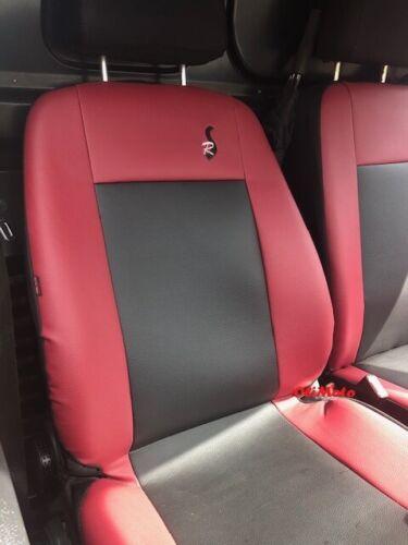 Eco-cuero Tailored fundas de asiento 2+1 para Mercedes Vito W639 2003-2014
