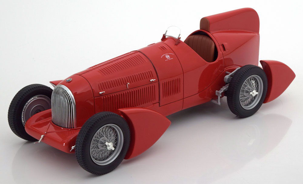 1934 Alfa Romeo Tipo B P3 Aerodynamic by BoS Models LE of 1000 1 18 Scale. New