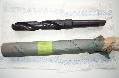 NEU Werkö Qualitäts Spiralbohrer 33,5-36,0-36,5-37,5mm MK4 HSS Bohrer WMW