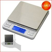Digital Pocket Scale Science Lab Diet Food Postal Mailing Jewelry Weigh Scales