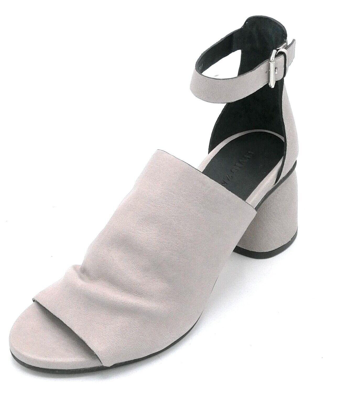 Zanon EJ5805 sandalo nappa lavanda cinturino tacco tacco tacco tondo 5 cm 9c12a0