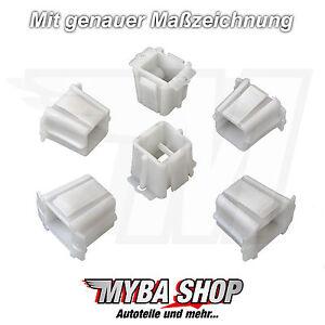 4x Opel Führungsbuchsen Scheinwerfer Halter Clips Corsa B TIGRA A 90386374