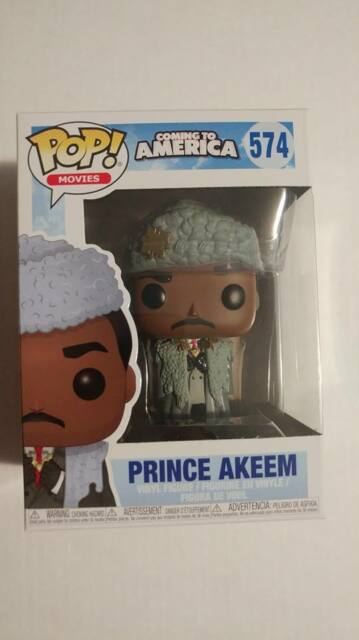 Funko Pop! Movies 574 Coming to America Prince Akeem Pop Vinyl Figure FU30803