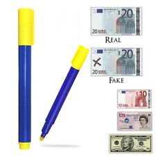 Bank Note Checker Pens Counterfeit Fake Forged Money Detector Tester Marker New