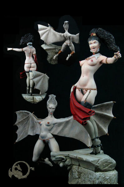 The Huntmaster 1 Figur 90mm  El Viejo Dragon Miniaturas Neu Metall Resin AS962