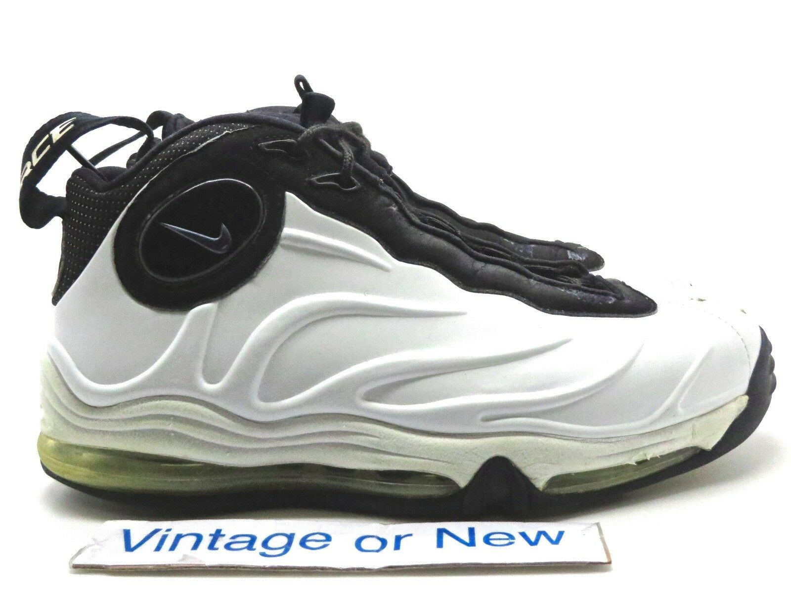 Nike Total Air Foamposite Max White Black Tim Duncan 2018 sz 7.5