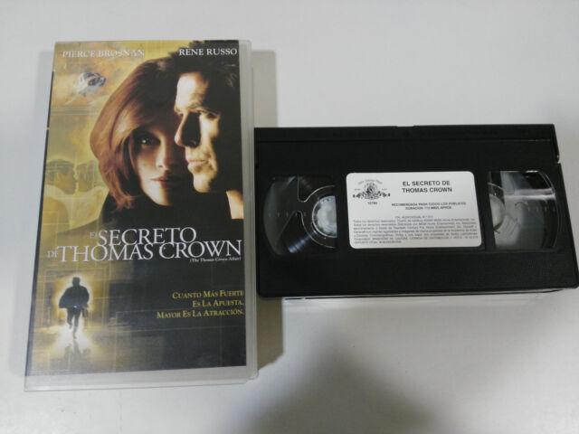 EL SECRET DE THOMAS CROWN PIERCE BROSNAN VHS BANDE COLLECTOR CASTILLAN