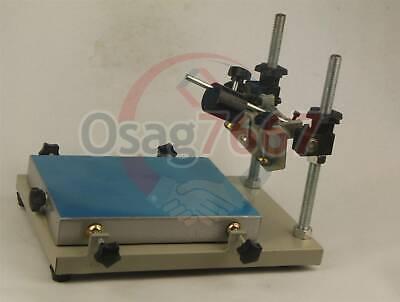 US Manual solder paste printer,PCB SMT stencil printer S size 300x240mm Printing