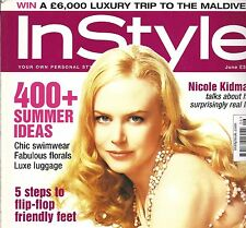 InStyle June 2005 Nicole Kidman cover