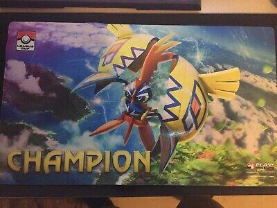 Pokemon Ho-oh GX CHAMPION Playmat League Cup Winner Unused Mat
