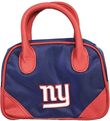 NFL New York Giants Mini Bowler Purse Change Purse Handbag Tote Wallet