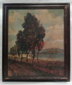 Dipinto-su-tavola-firmato-cm-25x30-Antikidea