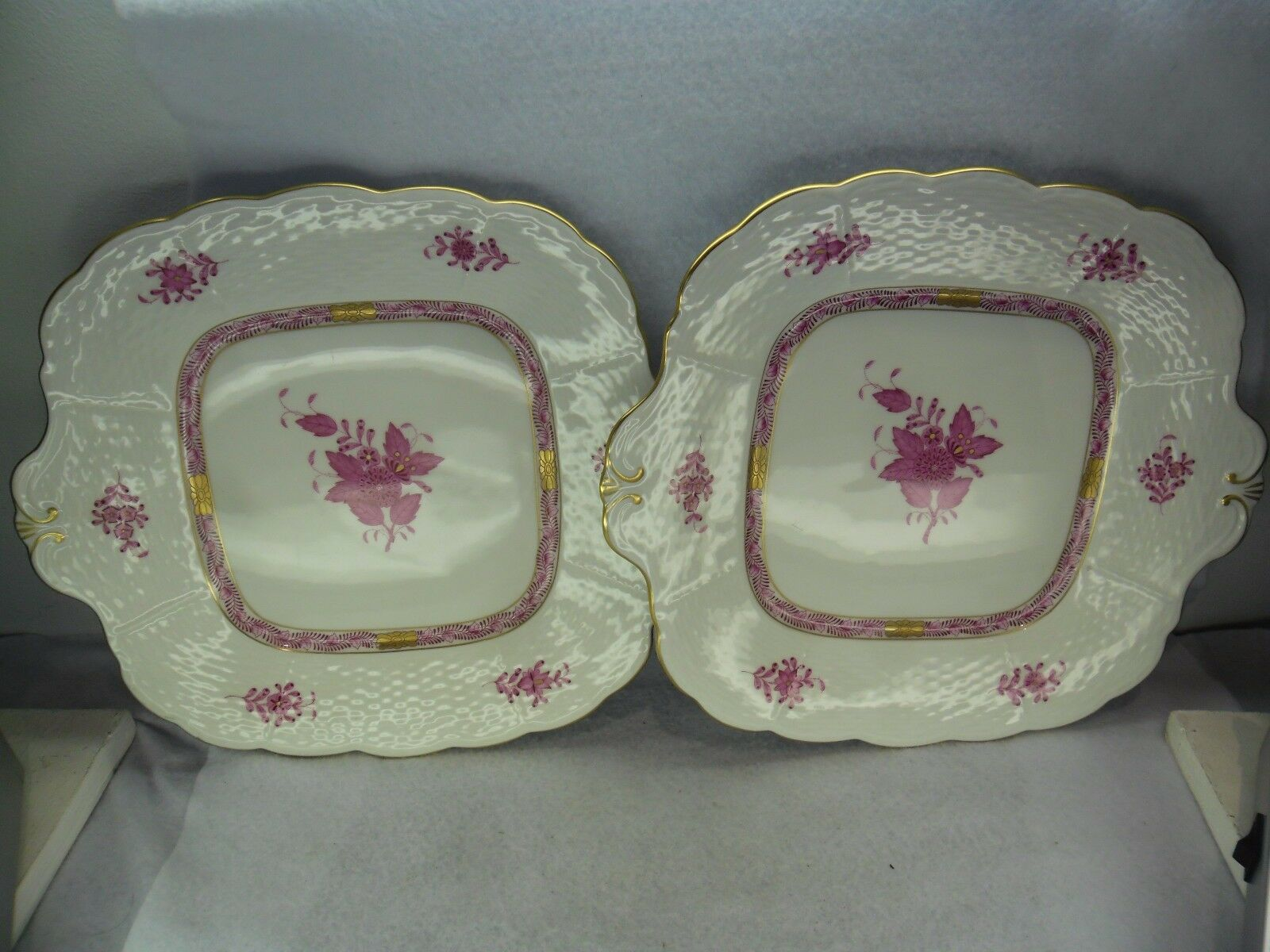 Herend Porcelain Apponyi Purple Pattern
