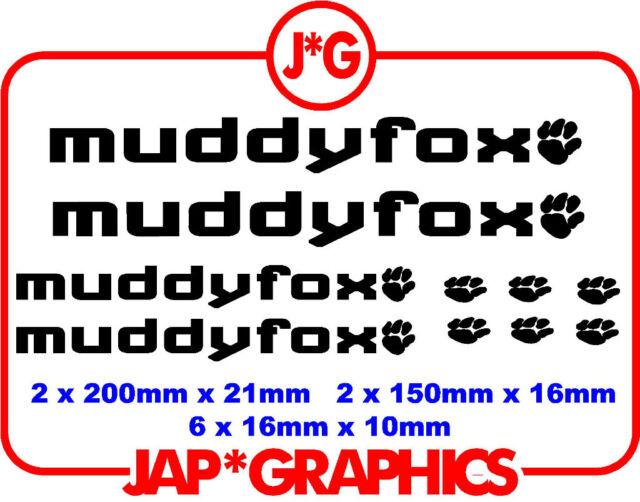 9642ec25c54 muddy fox mountain bike bmx downhill mtb sticker decal free shipping