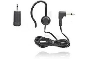Tandy-Radio-Shack-Mono-Clip-Earphone-Adapter-New-in-Package-Free-US-Shipping