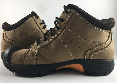 Hush Puppies Boys Brown Leather Suede