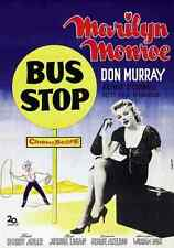 Film Bus Stop 07 A2 Box Canvas Print
