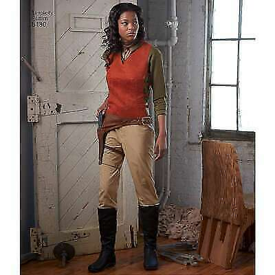 SIMPLICITY 8480 Misses Sci-Fi Firefly Battlestar Galactica Rogue One Costume Pat
