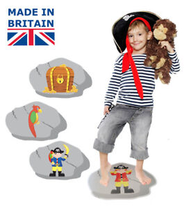 Details about Pirate party games - 3 in 1 pack for kids parties, stepping  stones, ebay