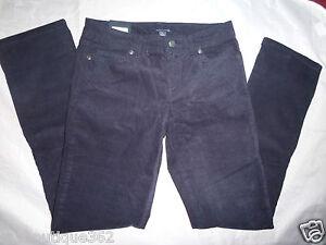 Tommy Hilfiger Mujer Pana Pierna Recta Azul Marino Pantalones Talla 2 Nuevo Nwt Ebay