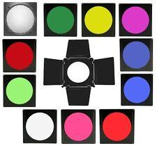 """10 x Gel Filters 8"""" Barn Door Honeycomb Set /AlienBees fits 7"""" to 8"""" Reflector"""