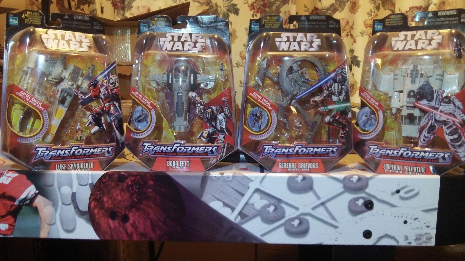 Star Wars Hasbro Transformers lots Vader Fett Skywalker more