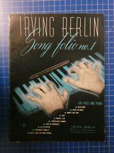Irving-Berlin-Song-folio-no-1-New-York-H10247