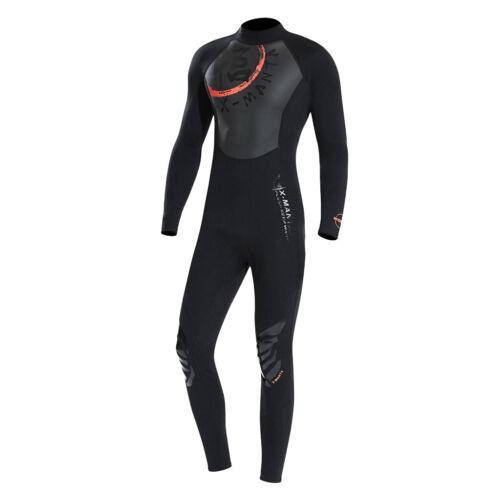 Männer Neoprenanzüge Ganzkörpertauchen Schnorcheln Surfen Haut Neoprenanzug