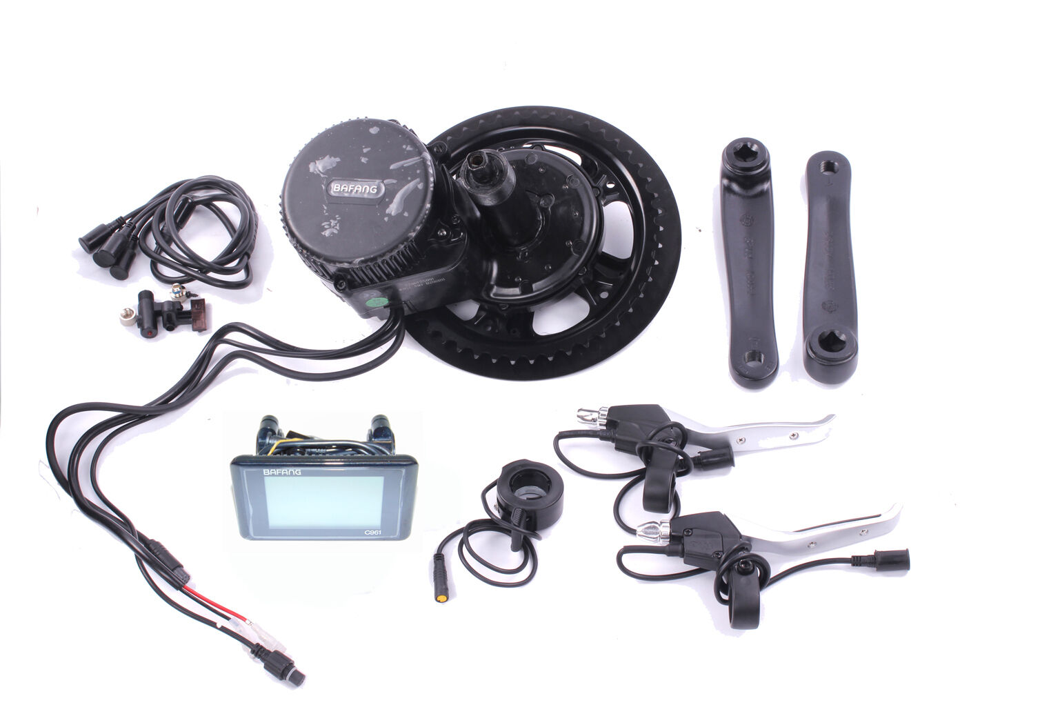 E-Bike Umbau Kit BAFANG G340 BBS01 36V  350W Mittelmotor Umrüstsatz Display C961  welcome to buy