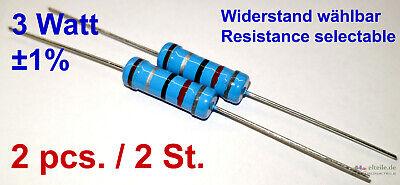 Axial 1/% Widerstand 510Ohm 10 x Metallschicht NEU