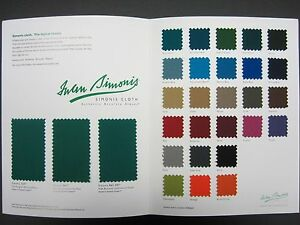 Simonis HR Pool Table Felt Cloth Choose Your Color EBay - Simonis pool table felt colors