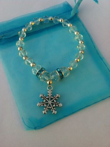 Beautiful Frozen Elsa Inspired Bracelet//Party Bag Filler//Costume//Toy Gift