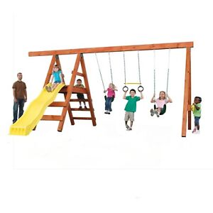 Custom Play Swing Set Hardware Kit Backyard Outdoor Kids Diy Playset