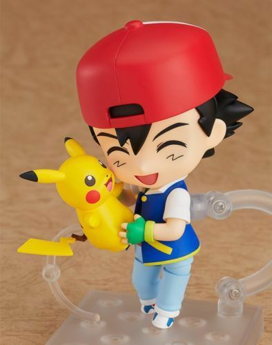NEW Nendoroid 800 Pokemon Ash /& Pikachu Satoshi Action Figure In STOCK No box