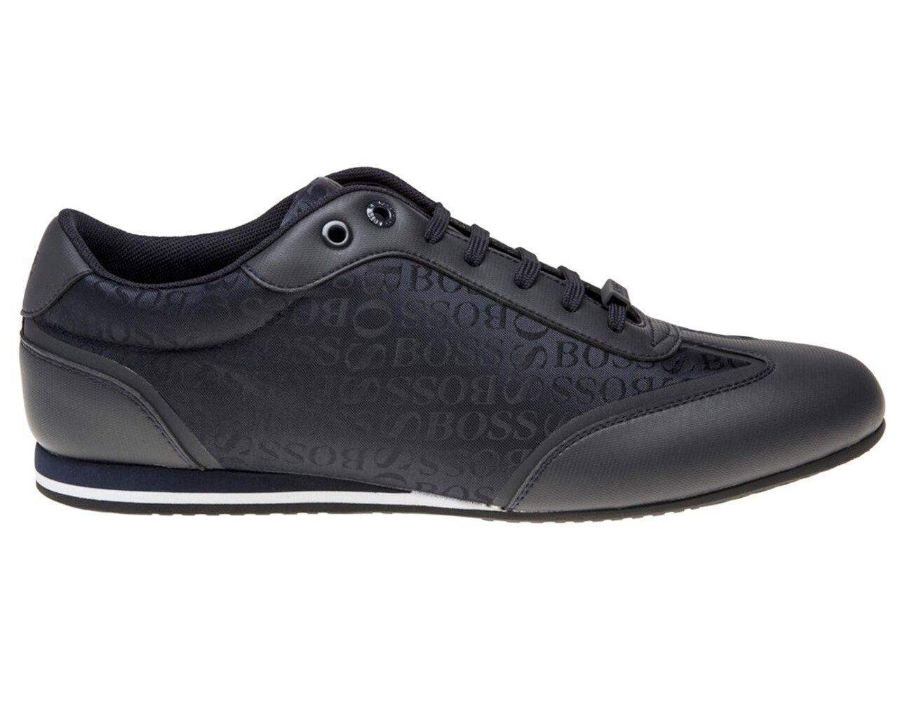 Hugo Boss más Claro Lowp Logo 50397587 401 Zapatillas Zapatillas Zapatillas Hombre Azul Oscuro 4c752f