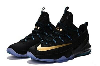 NEW Nike Lebron XIII Low EP 13 James Men Basketball Sneakers Shoes Black  Gold 11 | eBay