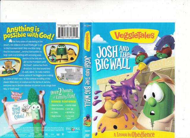Veggietales-Josh And The Bigwall-1997-Animated Ve-DVD