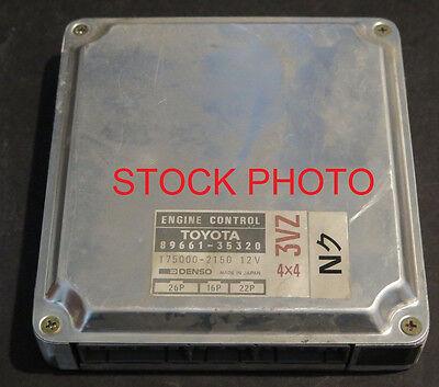 89 TOYOTA PICKUP MT 6CYL ECU ECM COMPUTER 89661-35191