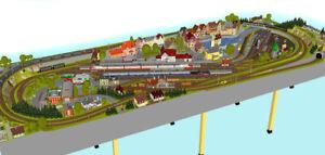 GP5-0040-Maerklin-C-Gleis-Plan-034-Wasserburg-034-440x160cm-DIN-A4-Mappe-Color