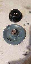 Kubota Z482 Crankshaft Pulley Water Pump Pulley 2 Cylinder Carrier Apu V Belt