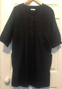 Size Smock Black Whistles 12 Dress OxtRw4CxqY