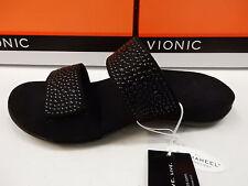 4e30955c7924 Women Vionic Orthaheel Samoa Slide Sandal 341samoa Black 100 Original 9