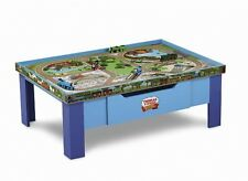 Train Table Thomas Wooden Railway Grow With Me Play Table New Playset