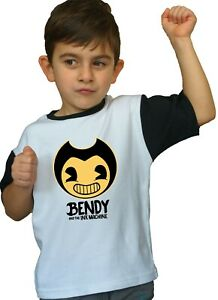 NEW Bendy Ink Machine Nightmare Personalized Birthday Party Favor Gift T-Shirt