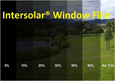 "05 /% Uncut 40/""x 20 Feet Window Tint Film 2 ply 10 yrs warranty Intersolar® USA"