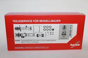 Herpa-084482-chasis-MAN-TGL-camiones-7-5-toneladas-para-carga-a-bordo-muro-1-87-h0-nuevo-en-OVP