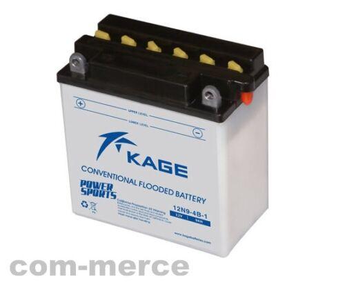 Kage Rasentraktor Batterie 12 V 9 Ah 50914 // 99054 Pol links 130 A