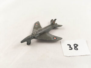 DINKY TOYS #734 RAF ROYAL AIR FORCE SUPERMARINE SWIFT FIGHTER JET PLANE AIRCRAFT