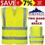NEW-Portwest-Hi-Vis-Yellow-Two-Band-amp-Brace-Vest-High-Visibility-Compliant-Work thumbnail 1