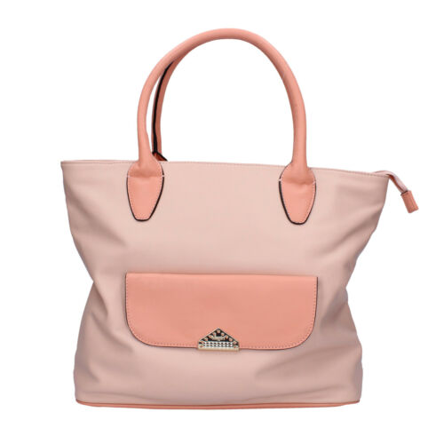 womens accessories BLUGIRL BLUMARINE bag pink leather AB968